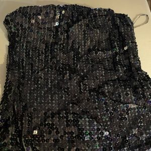 New Sequined tube top